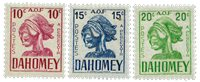Dahomey - YT Taxe 29-31
