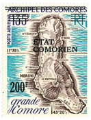 Comoros - Air mail 86