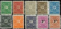 Elfenbenskysten - YT portomærker 9-18
