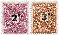 Dahomey - YT TX 17-18