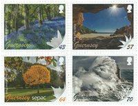 根西岛邮票 SEPAC四季:春、夏、秋、冬