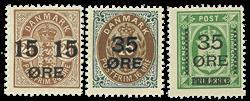 Danmark 1904-1912 provisorier