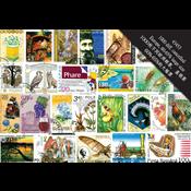 1000枚不同欧洲邮票, 盖销票 60%-65%的大幅票