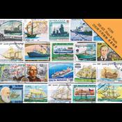 200枚不同船舶 类盖销票