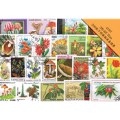 200枚不同植物类盖销票