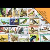 200枚不同鸟类盖销票