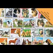 200枚不同狗类盖销票