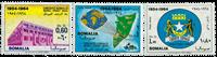 Somalie - Michel 57-59 neuf
