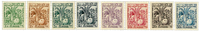 Tunisie - YT 66-73 timbres service neuf