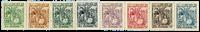 Tunesien - YT 66-73 tjenestemærker postfrisk