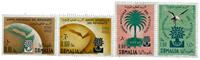 Italiensk Somalia - Michel 372-75 postfrisk