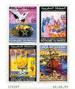 Maroc - YT 1248-51 neuf