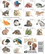 美国邮票 宠物 小本票 外国邮票 邮票收藏 新邮