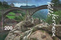 Suisse - Vallée Verzasca - Bloc-feuillet neuf