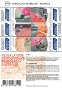 Netherlands - Borderless Netherlands, discoveries in Australia - Mint souvenir sheet