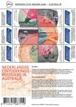 Netherlands - Borderless Netherlands, discoveries in Australia - Mint souvenir sheet
