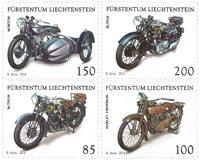 Liechtenstein - Motos - Série neuve 4v