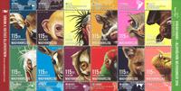 Ungarn - Dyreportrætter - Postfrisk ark