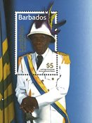 Barbades - Festival culturel - Bloc-feuillet neuf