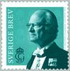 Sverige - Kong Carl Gustaf - Postfrisk frimærke
