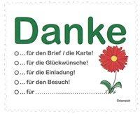 """奥地利邮票 """"谢谢您""""--问候邮票 1枚"""