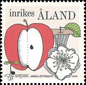 Åland - SEPAC Årstider - Postfrisk frimærke