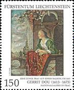 Liechtenstein - Fællesudgave med Tjekkiet - Postfrisk frimærke