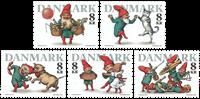 Danemark - Noël 2016 - Série neuve 5v