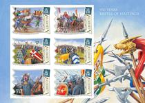 Alderney - Slaget om Hastings - Postfrisk miniark