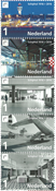 Netherlands - 100 Years Schipol airport - Mint set 5v