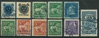 Sverige - 1889-1921