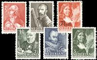 1940 - Nr. 350-355 Postfris - Postfris