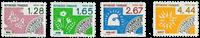 France - YT PO190-93 - Préoblitéré