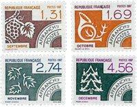 France - YT PO194-97 - Préoblitéré