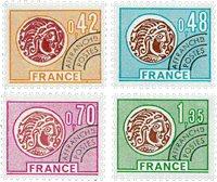 France - YT PO134-37 - Préoblitéré
