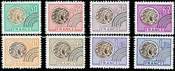 France - YT PO138-45 - Préoblitéré