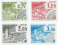 France - YT PO174-77 - Préoblitéré
