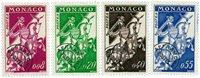 Monaco préoblitéré YT 19-22