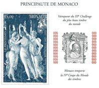Monaco miniark postfrisk Y&T 77