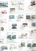 Groenland - 35 enveloppes premier jour différentes