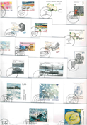 Greenland - 18 different first day covers