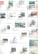 Greenland - 21 different first day covers