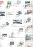 Groenland - 21 enveloppes premier jour différentes