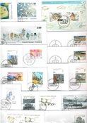 Groenland - 27 enveloppes premier jour différentes
