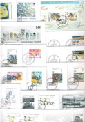 Greenland - 27 different first day covers