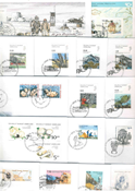 Greenland - 37 different first day covers