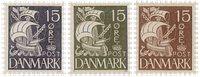 Danmark - Karavel - Samlet tilbud - 3 enkeltmærker