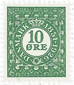 Danmark bogtryk AFA 154