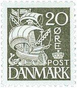 Danmark - AFA 204A - Postfrisk