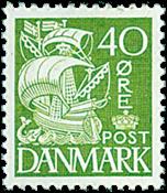 Danmark - AFA nr. 208A - Stålstik